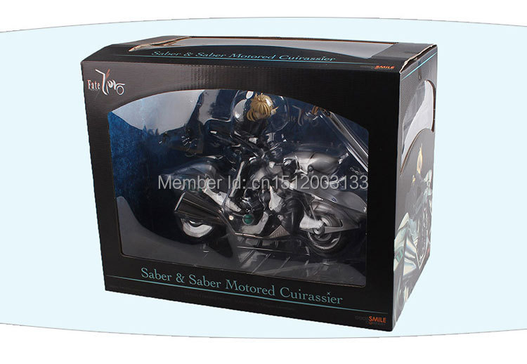 Fate/Zero statuette 1/8 Saber & Saber Motored Cuirassier 16CM Good smile Figure Toys New In Box fate zero volume 1