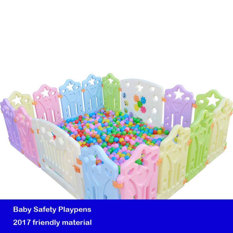Baby Game Playpens Children's game fence baby crawling Safe Toddler fence Baby Kids Safety Protection Care Playpen PPH-1 quality baby fence child fence baby safety guardrail creepiness toddler fence crib game house toy playpen colorful girl boy