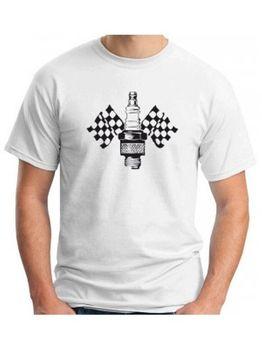 2019 moda cuello redondo ropa Maglia Maglietta camiseta Uomo Motore Cilindro camiseta personalizada