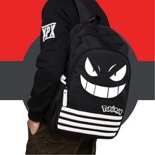 Hot Sale Pocket Monsters Oxford Bag font b Pokemon b font Gengar Backpack School Bags for