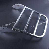 Motorcycle Bar Luggage Rack For Honda Shadow Steed VLX600 Spirit 750 2001 2008 Moto Accessories