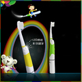 Seago Fashion Children Led Light Sonic Electric Toothbrush Battery Operated Professional Oral Hygiene 3 Tooth Brush Heads SG-918