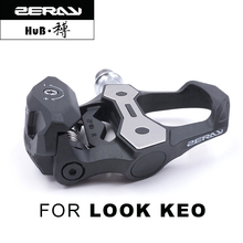 ZERAY 110S For Look Keo font b Bike b font Pedals Self locking Bicycle Pedal Carbon