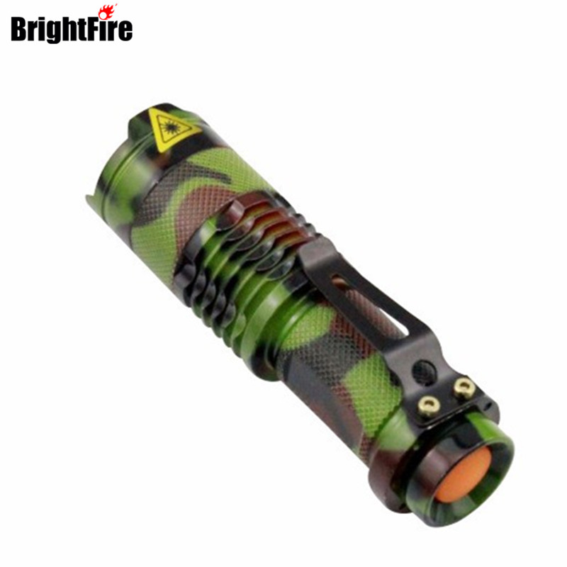 Hot Sale Military Quality -Q5 LED Flashlight Army Green 3 Mode Zoomable Mini Flashlight Waterproof Torch Light mini torch rechargeable waterproof 2 mode white led flashlight green