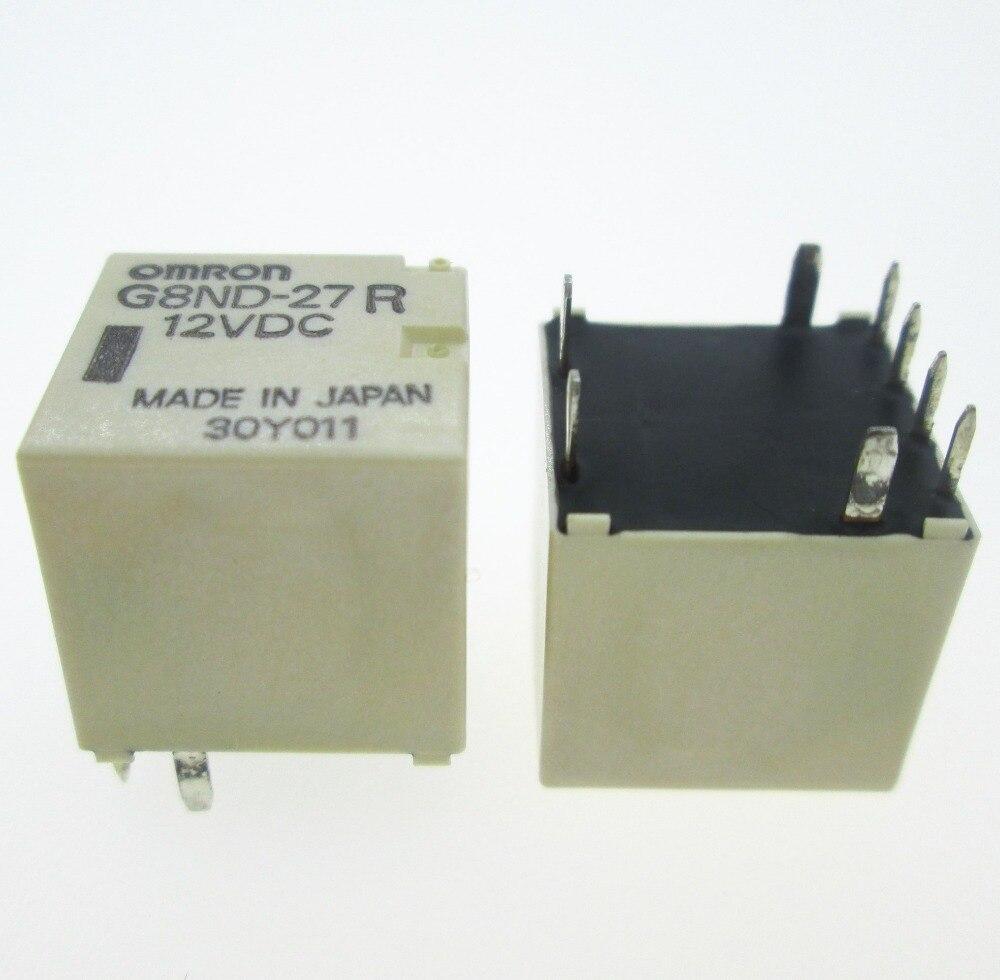 NEW CAR relay G8ND 27R 12VDC G8ND 27R 12VDC G8ND27R 12VDC DC12V 12V 8PIN