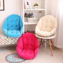 YR Shell Form Kissen Siamese Warme Sitz Pad für Stuhl oder Boden Kreative Komfortable Freizeit Super Weiche Plüsch Rückenlehne Kissen