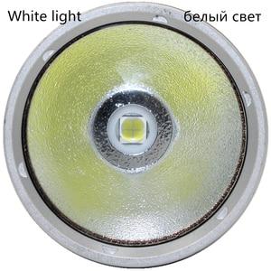 Image 5 - קריס XHP70 LED צהוב/לבן אור 4000 Lumens צלילה פנס 26650 לפיד מתחת למים 100M xhp70.2 spearfishing led צלילה מנורה