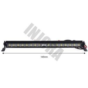 Image 3 - Trx4 المعادن LED سقف مصباح ضوء بار ل 1/10 تراكسس RC حفارات Trx 4 Trx 4 SCX10 90027 و SCX10 II 90046 90047