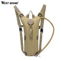 West biking 3l/2.5l ciclismo saco de água ao ar livre tático hidratação mochila caminhadas saco de bexiga de água oxford mochila de água bolsa