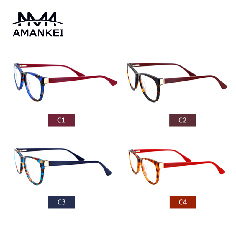 printed custom eyeglasses frame 2016 designer women clear lens glasses without prescription tortoise cheap optical glasses