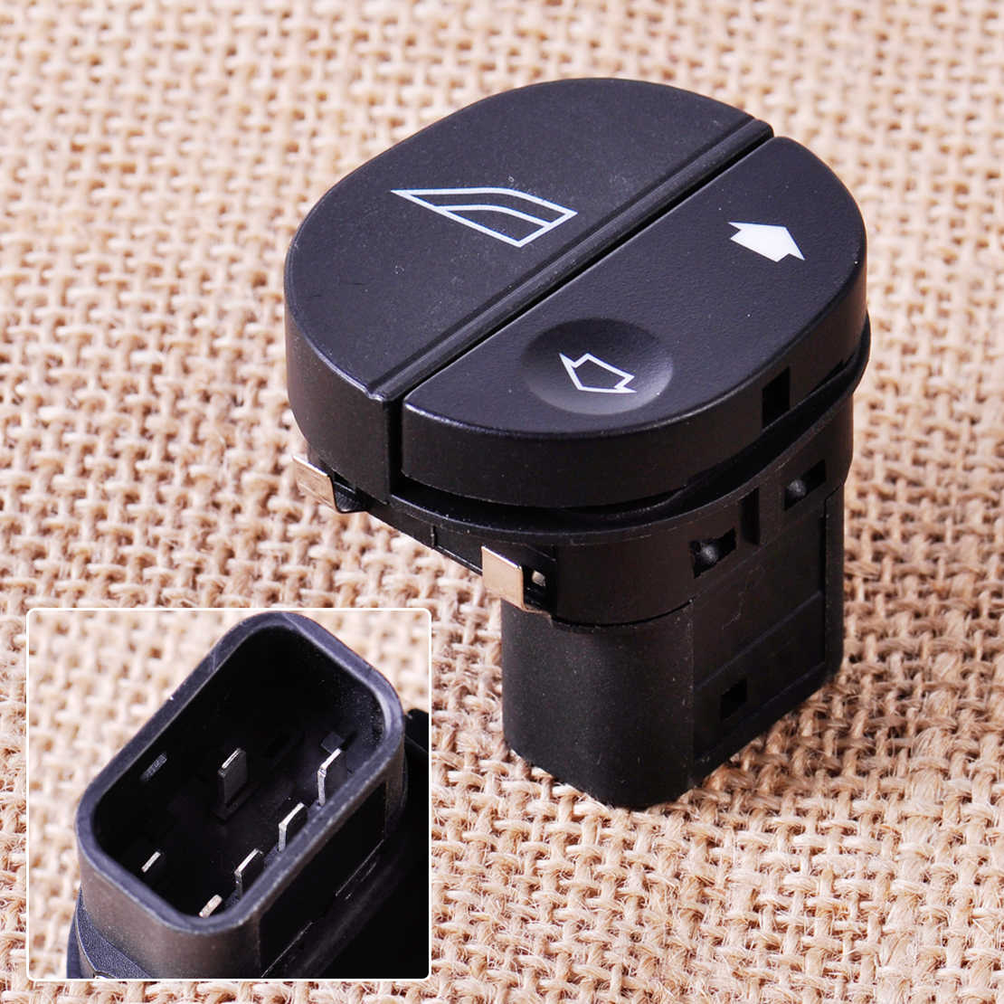 CITALL Passenger Side Electric Power Window Switch 96FG14529AC voor Ford Fiesta Fusion Street KA Puma Transit MK7 Connect Tourneo