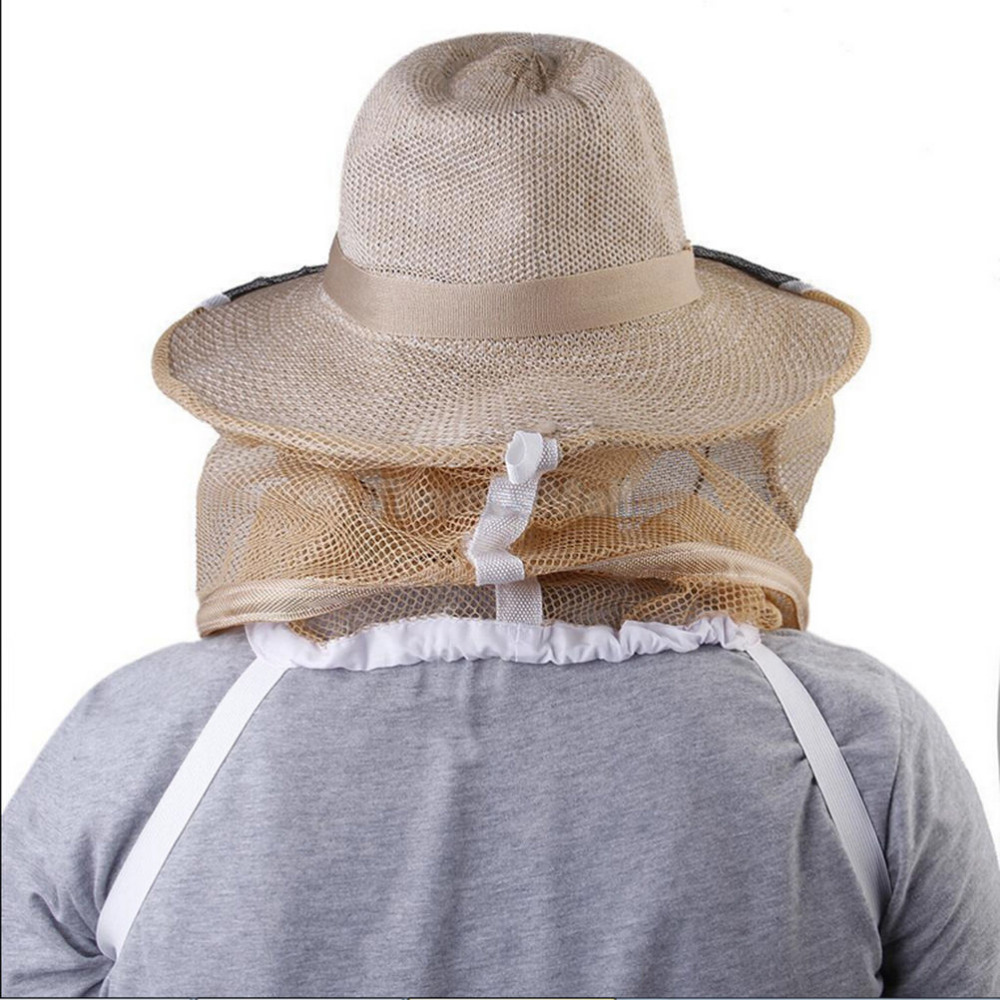 Professional Sale New Face Protector Bee Protective Cap Beekeeping Hat Insect Fishing Mesh Mask Net Fishermen Clothing Men's Hats