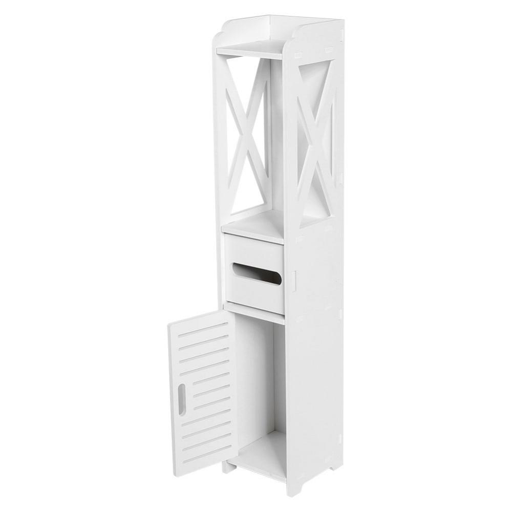 Floor Mounted Storage Cabinet Corner Bathroom Vanity Bathroom Side ...