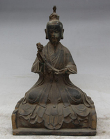 006673 Old Chinese Taoism Bronze Northern Wei Taoist Tai Shang Lao Jun immortal Statue