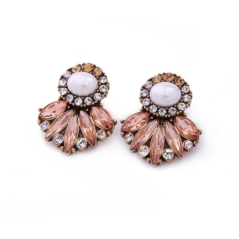 KISS ME Markenaussage Ohrringe New Fashion Simulierte Perle Kristall - Modeschmuck - Foto 4