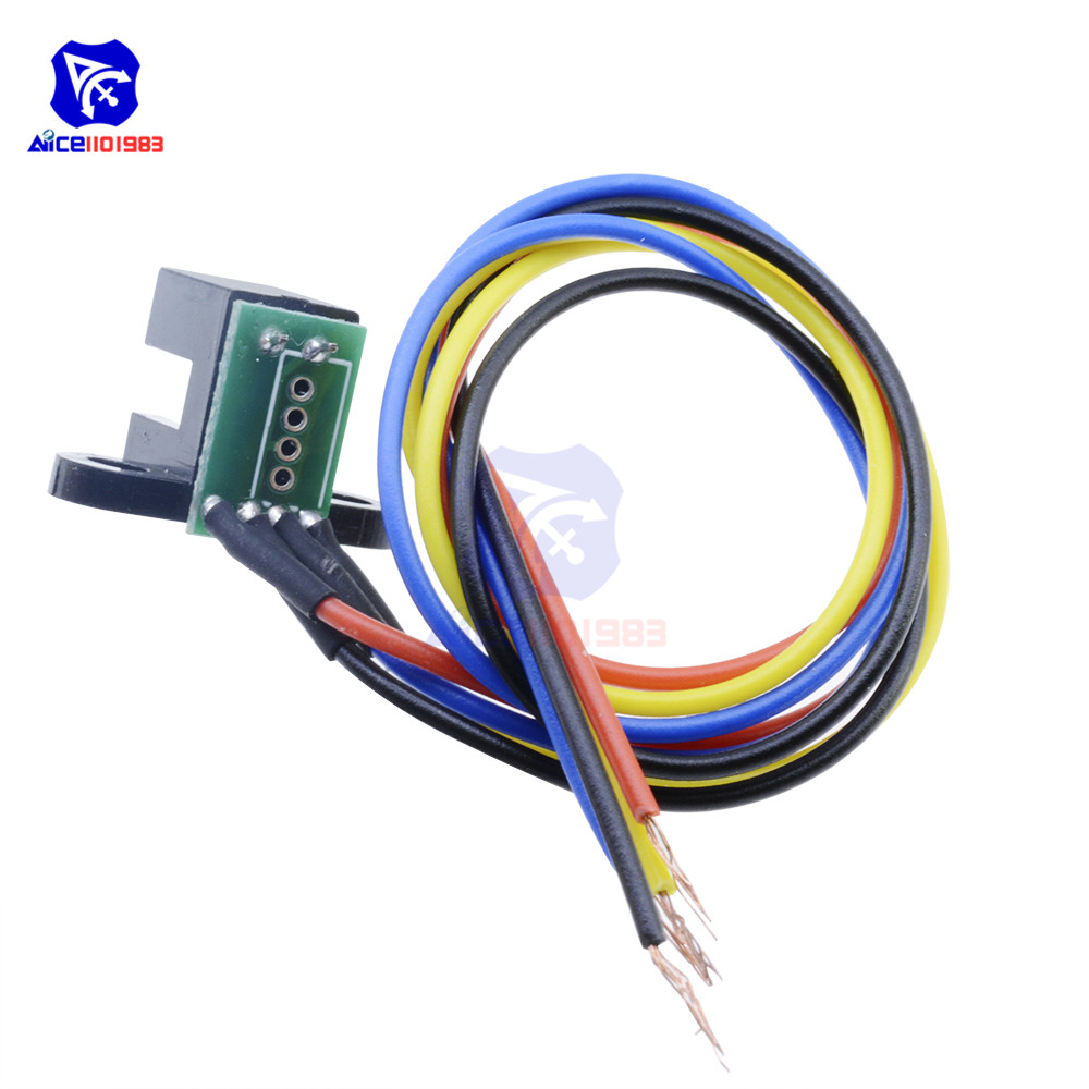Image 4 - Photoelectric Speed Sensor Encoder Code Disc Disk Code Wheel for Freescale Smart Car 5V Laser Cutting Quadrature Signal Output-in Integrated Circuits from Electronic Components & Supplies