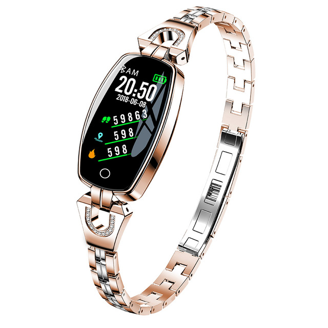 H8 Smart Watch Women Waterproof Heart Rate Monitoring Bluetooth For Android IOS Fitness Bracelet Smartwatch Drop Shipping