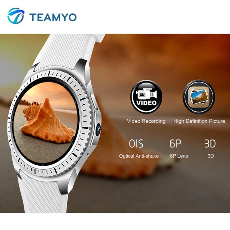 Teamyo GW 11 Smartwatch men fitness tracker watches blood pressure smart bracelet with wifi SIM Card