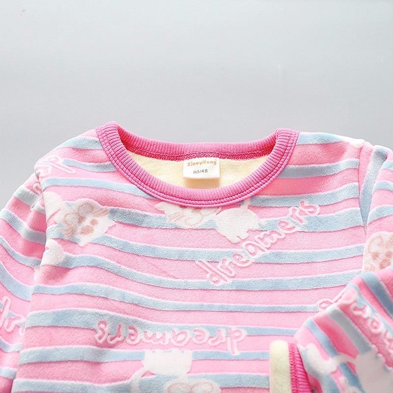 cfe59e658 Children s Set 2016 Autumn   Winter Cotton Fashion Casual striped ...