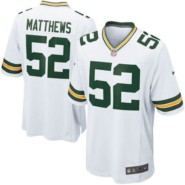 Fast shipping Green Bay high quality Men's Packers Clay Matthews jersey