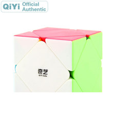 QiYi QiCheng Skewed Magic Cube XMD Stickerless Cubo Magico Professional Neo Speed Puzzle Antistress Fidget Toys For Kids
