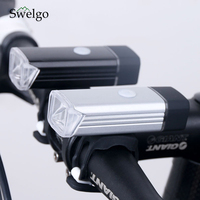 Cycling USB Waterproof Lamp Rechargeable Aluminum Cycling Led Light 5W 4 Modes Mountain Road Bike Bicycle