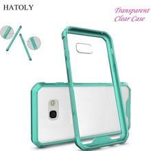 Здесь можно купить  Transparent Clear Case For Samsung Galaxy A5 2017 Cover Silicone + TPU Cover For Samsung A5 2017 Case For Samsung A5 2017 Funda<