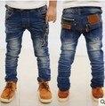 DK0095 бесплатная доставка новая мода мальчики досуг джинсы мальчиков брюки Корейской версии детей брюки для весны и осени и зимы