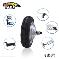 High Quality 8 Inch 36v 350w Wheel Brushless Hub Motor For Escooter
