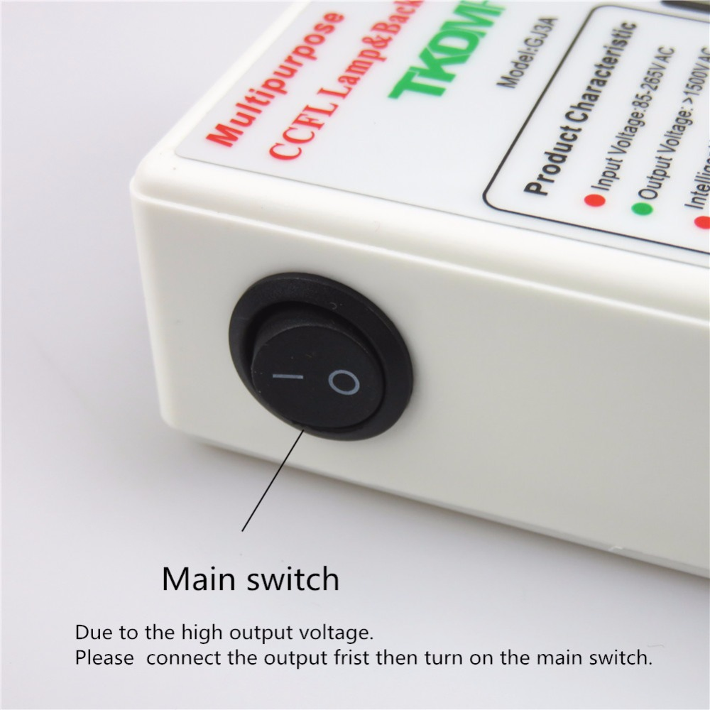 TKDMR Tester per lampada CCFL di tutte le dimensioni TV LCD Laptop - Strumenti di misura - Fotografia 6