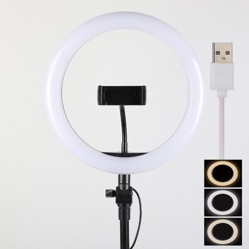 16cm 26cm 30cm 33cm Ring Light with 45cm 110cm 180cm 200cm tripod