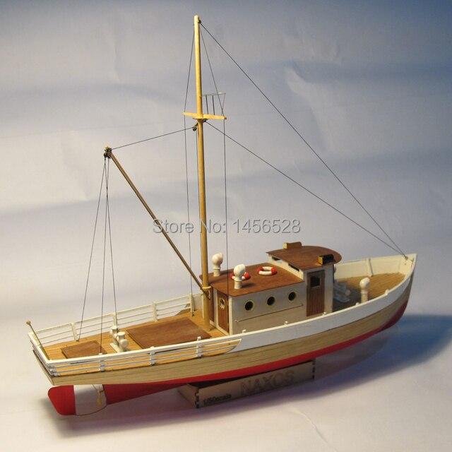 클래식 목조 세일링 보트 스케일 모델 우드 스케일 선박 1/50 naxos 스케일 어셈블리 모델 선박 빌딩 키트 스케일 우드 보트 선박-에서모델 빌딩 키트부터 완구 & 취미 의  그룹 3