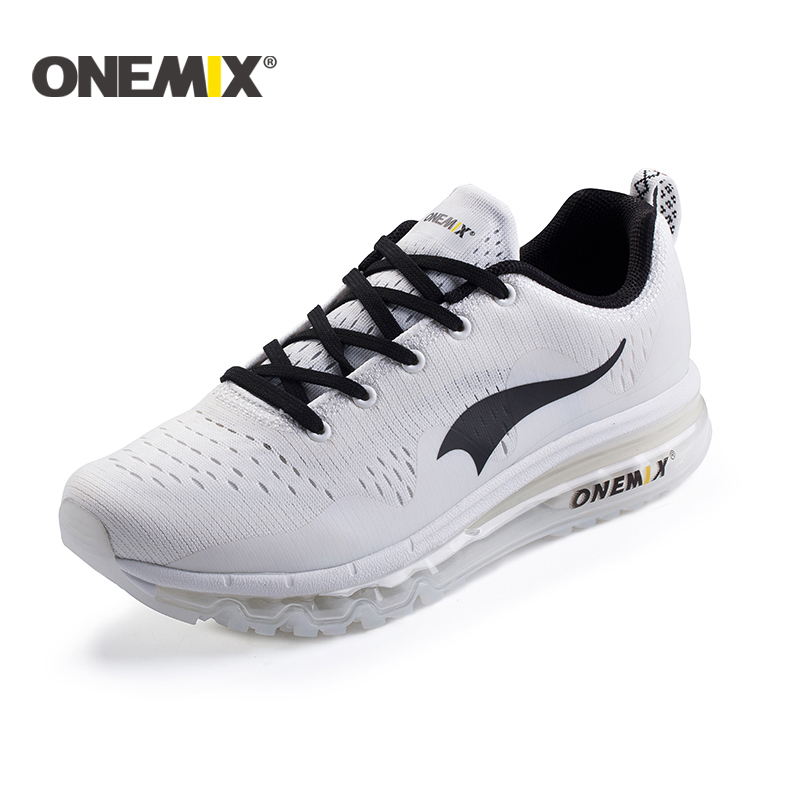 onemix New 2018 Air Sports Running Shoes woman cushioning breathable Massage Sneakers for men sport shoes athletic outdoor men msstor retro women men running shoes man brand summer breathable mesh sport shoes for woman outdoor athletic womens sneakers 46