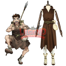 Cosplaylegend Anime Dr.Stone Taiju Oki cosplay costume Outfit Halloween costume custom made цена