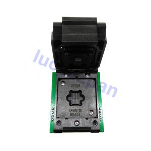Adapter CH341 To for Rt809f-Programmer/android Tv-Box BGA24-DIP8 5--5mm Chip Frame Dip8-Socket