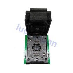 BGA24-DIP8 adaptador de circuito integrado, BGA24 a DIP8 adaptador de enchufe + 2pc Chip marco IC tamaño 4*6mm 5*5mm, para CH341 RT809F programador/Android TV BOX
