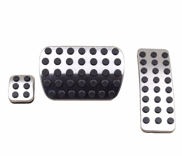 Non-slip Stainless Steel Sport Pedal Pads for Mercedes Benz M GL R Class AMG