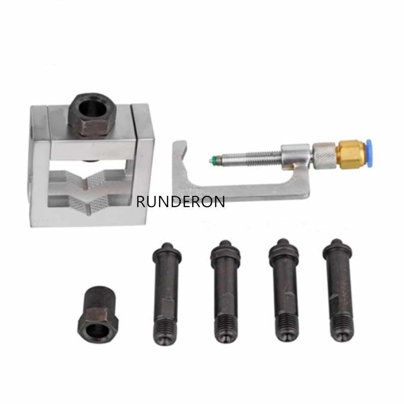 Excellent Universal Crs Common Rail Fuel Injector Clamp Adapter Fixed Disassembly Repair Tool Kit For Bosch Denso For Diesel Tester Bench Andrewgaddart Wooden Chair Designs For Living Room Andrewgaddartcom