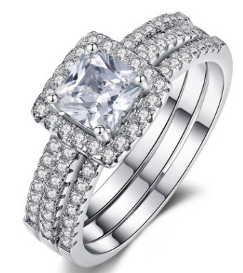 Bagues pour femmes bagues de mariage en argent sterling