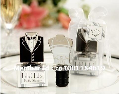 Bride And Groom Bottle Stoppers Wedding Decoration Of I Do I Do