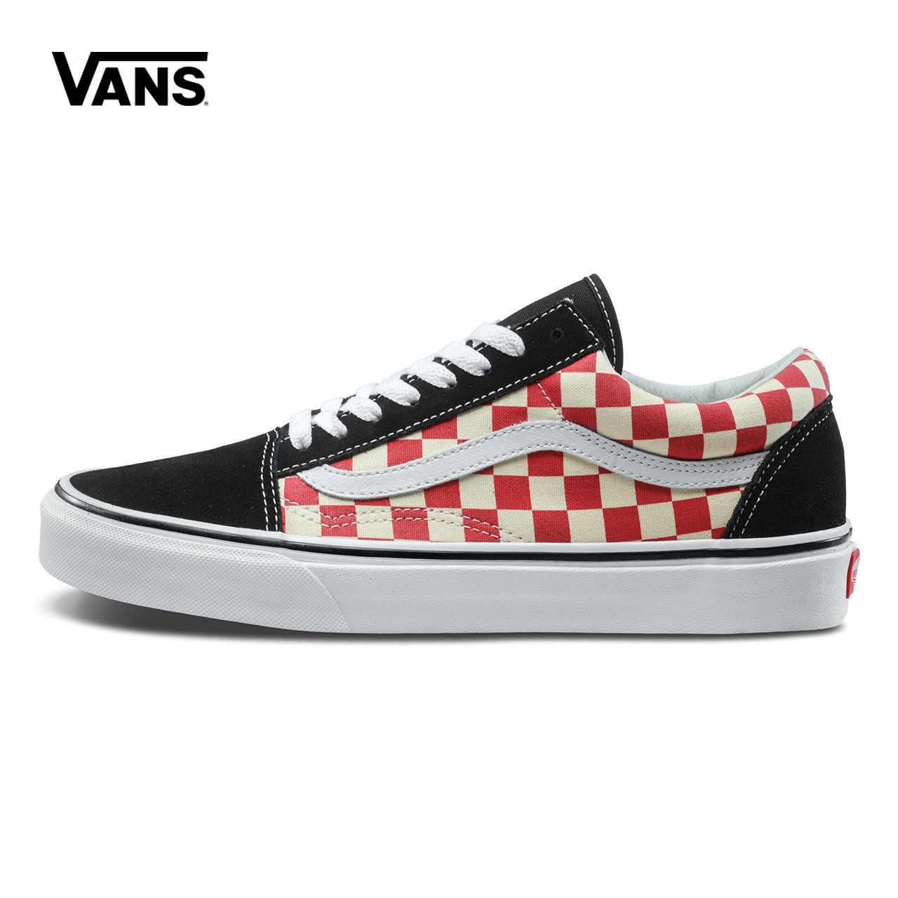 37ad45072b3 Original footwear winter Vans Mens   Womens Classic OLD SKOOL Low-top Skateboarding  Shoes Sneakers