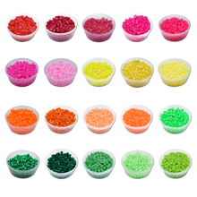 DOLLRYGA 2.6mm 1500pcs 72 Color Beads for Kids hama Beads Perler DIY Puzzles Peas High Auality Handmade Girl Gifts Children Toys цена