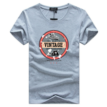 Vintage Printed T-shirt for Men – S-5XL