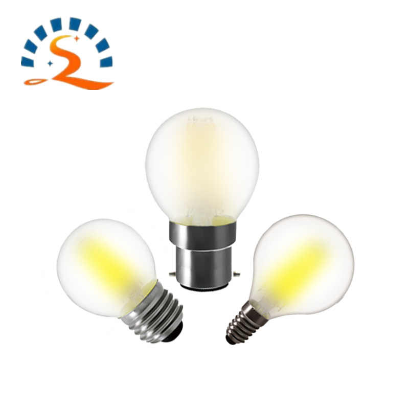G45 frosted LED bulb led bulb E27 E14 B22 220v light bulb 2W 4W 4W Dimmable  Chandelier /Table lamp bulb