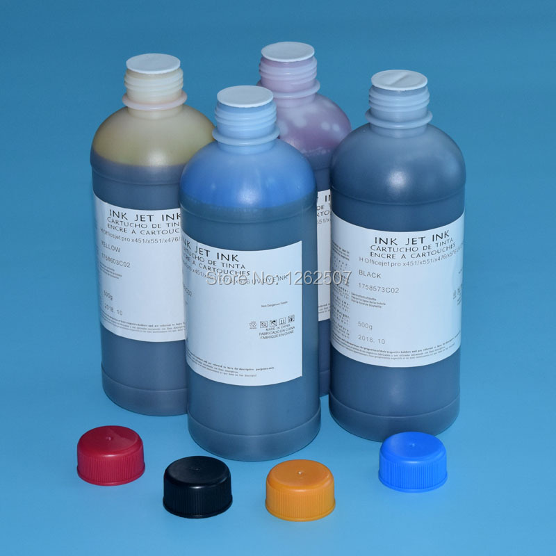 Dye ink for hp 970 971 water mark ink refill ink for x451 x551 x476 x576 printer ink refill 500ml volume good price 10g x gear grease for printer 3d printer ink printer used for hp samsung lexmark brother reduce noise good lubrication effect