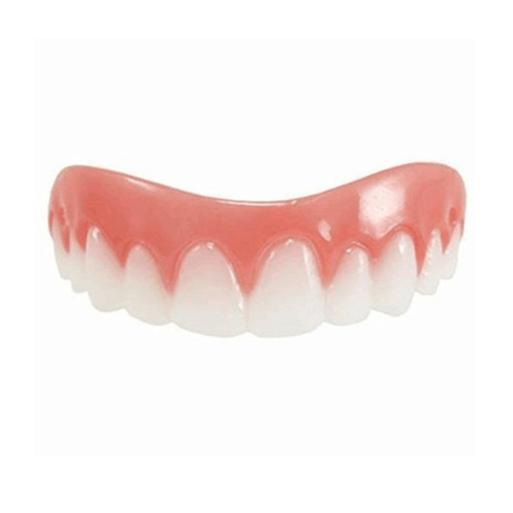 Comfortable Natural Silicone Perfect Smile Veneers Men Women Teeth Upper Cosmetic Veneer Tooth Cover Beauty Tool Teeth Whitening