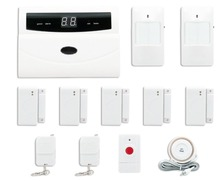 Safearmed (TM) 032-A Wireless Home Security Alarm System DIY Kit with Auto Dial