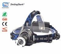 LED Headlight T6 Led Headlamp Zoom Head Flashlight Adjustable Head Lamp Optional Accessorie 18650 Battery Front