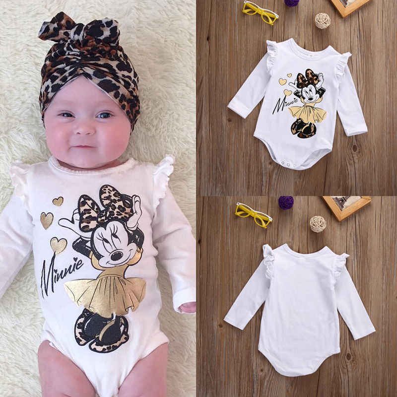 341f74af8868 Detail Feedback Questions about new fashion Newborn Baby Girl bodysuit long  sleeve cartoon Jumpsuit Bodysuit Outfit Set Clothes 0 18M on Aliexpress.com  ...