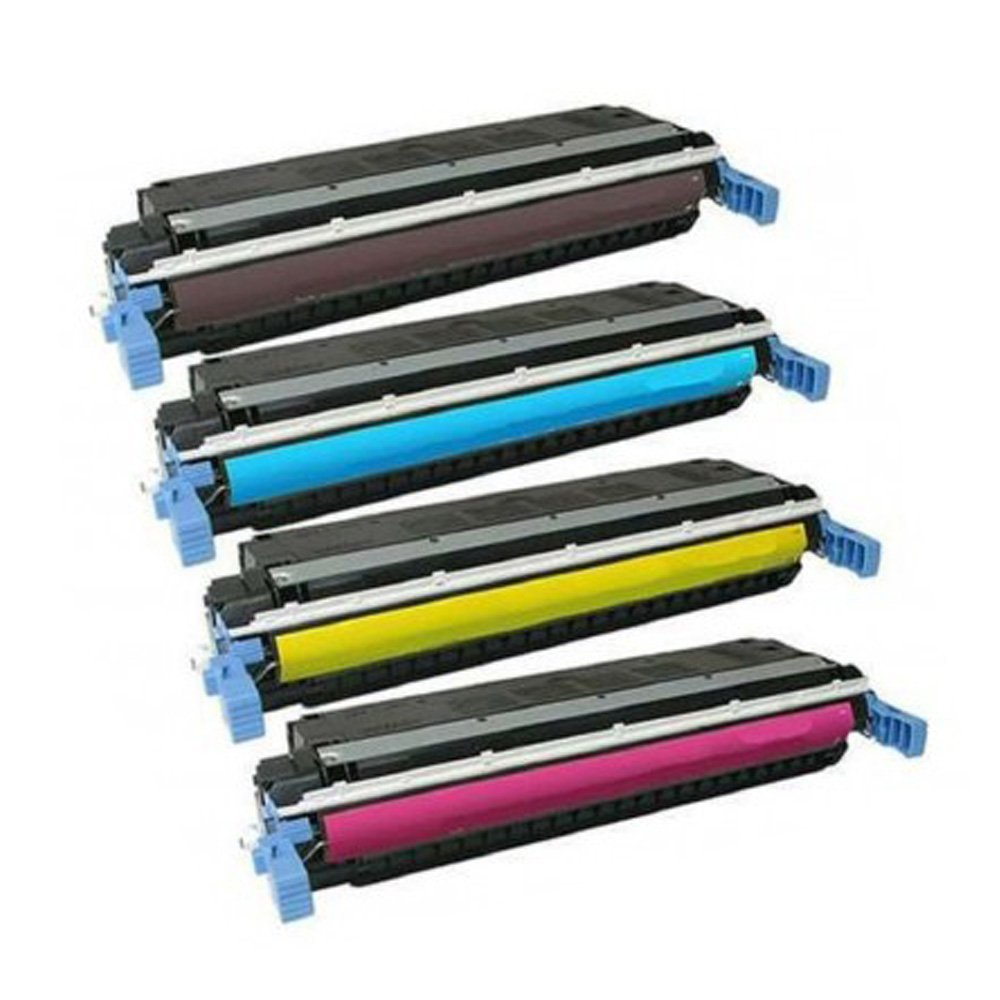 4X Compatible for HP 645A Color LaserJet 5500 5500dn 5500dtn 5550 5550dn 5550dtn Toner Cartridge C9730A 9730A 9731A 9732A 9733A|Toner Cartridges| |  - title=